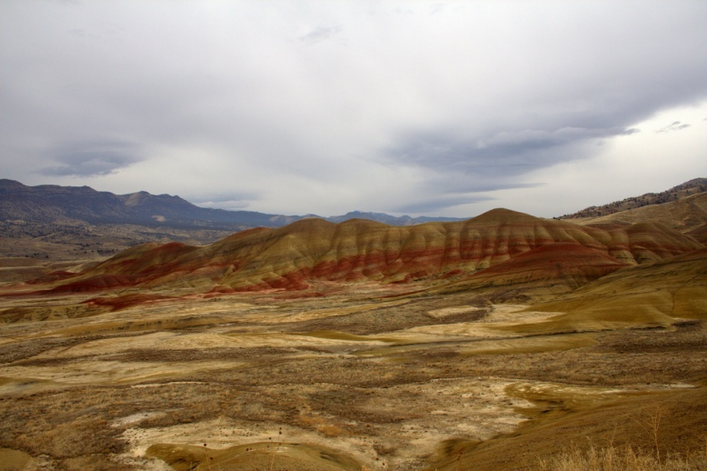 Oregon's Painted Hills are just one of the wonders to be explored along Highway 26. (Photo by Hayden)