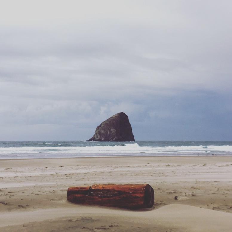 Haystack Rock in Pacific City